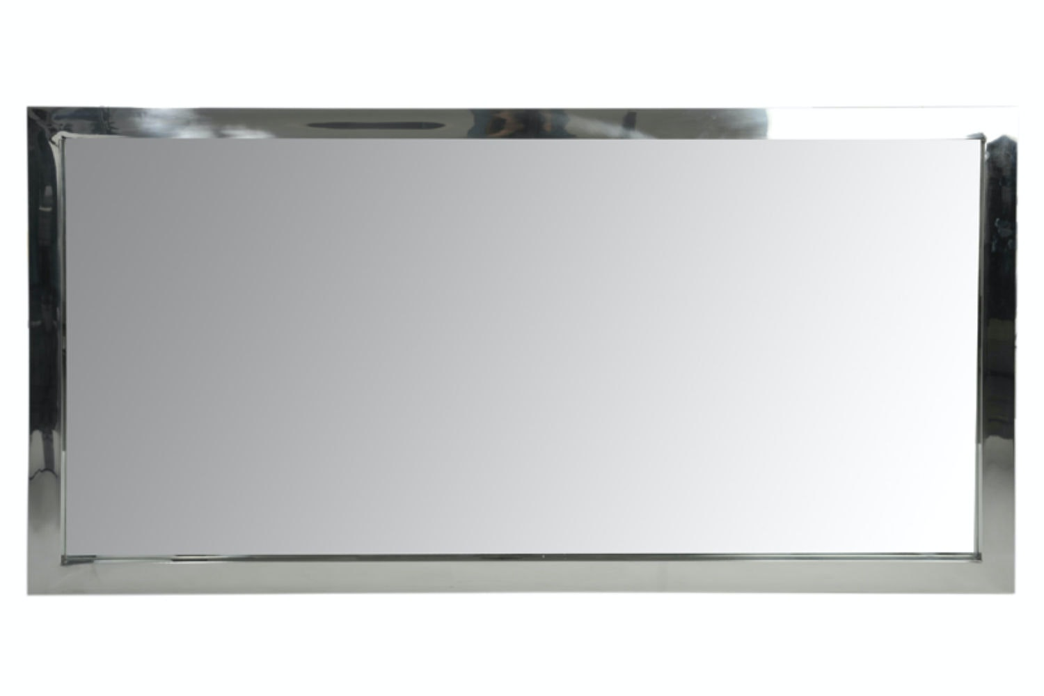 Silver Rectangular Mirror | Small
