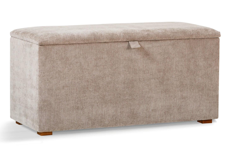 Osbourne Blanket Box | Taupe