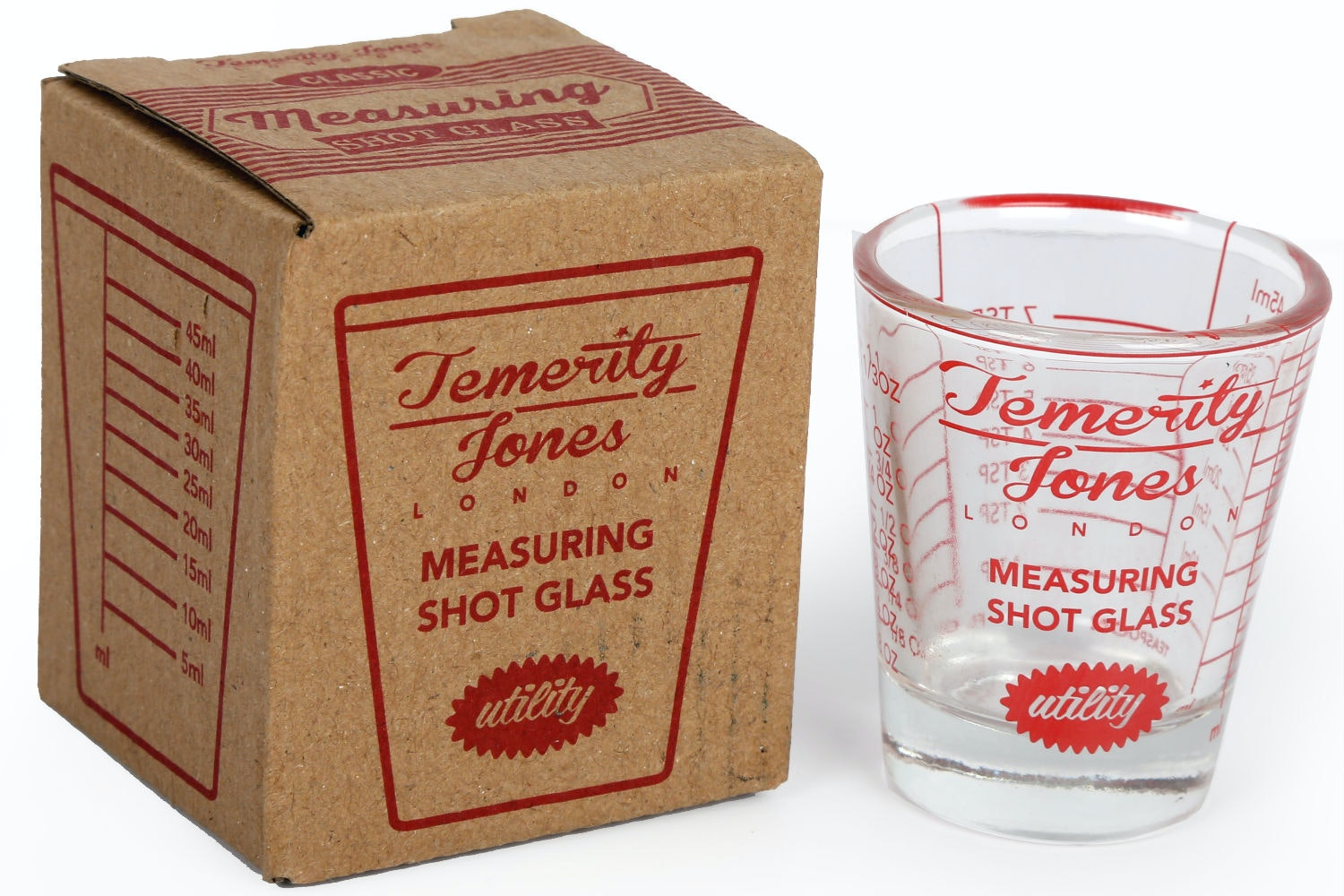 Utility Measuring Shot Glass