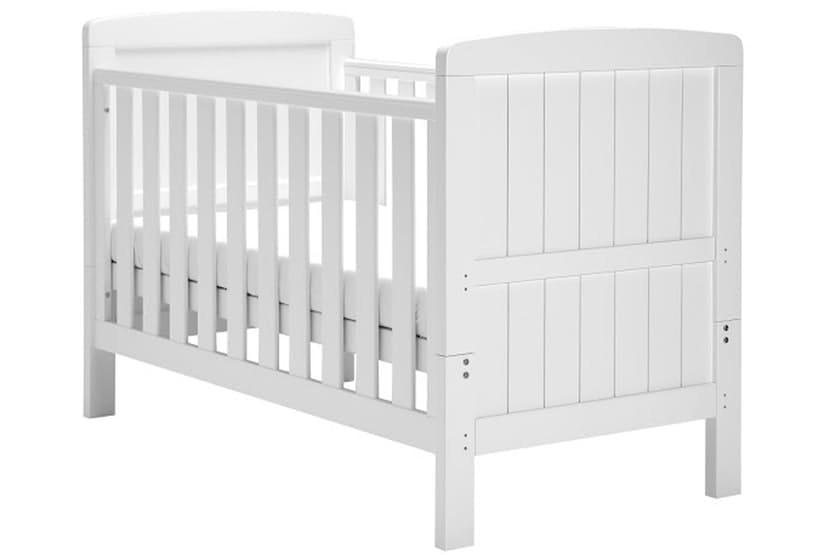 Austin White Cot Bed