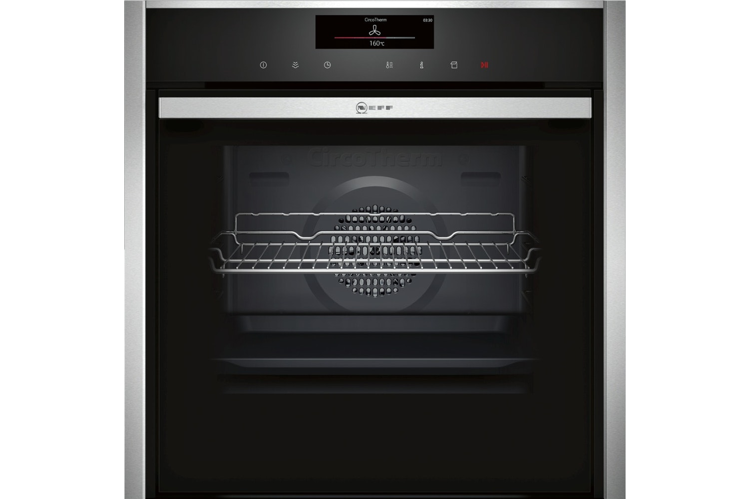 Neff Slide&Hide Single Pyrolytic Oven | B58VT68N0B