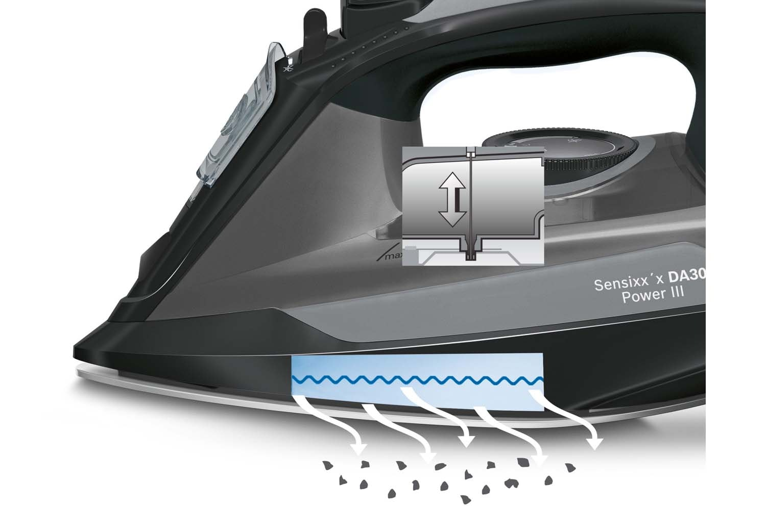 Bosch 2800W Sensixx'x DA30 Power III Steam Iron | TDA3021GB