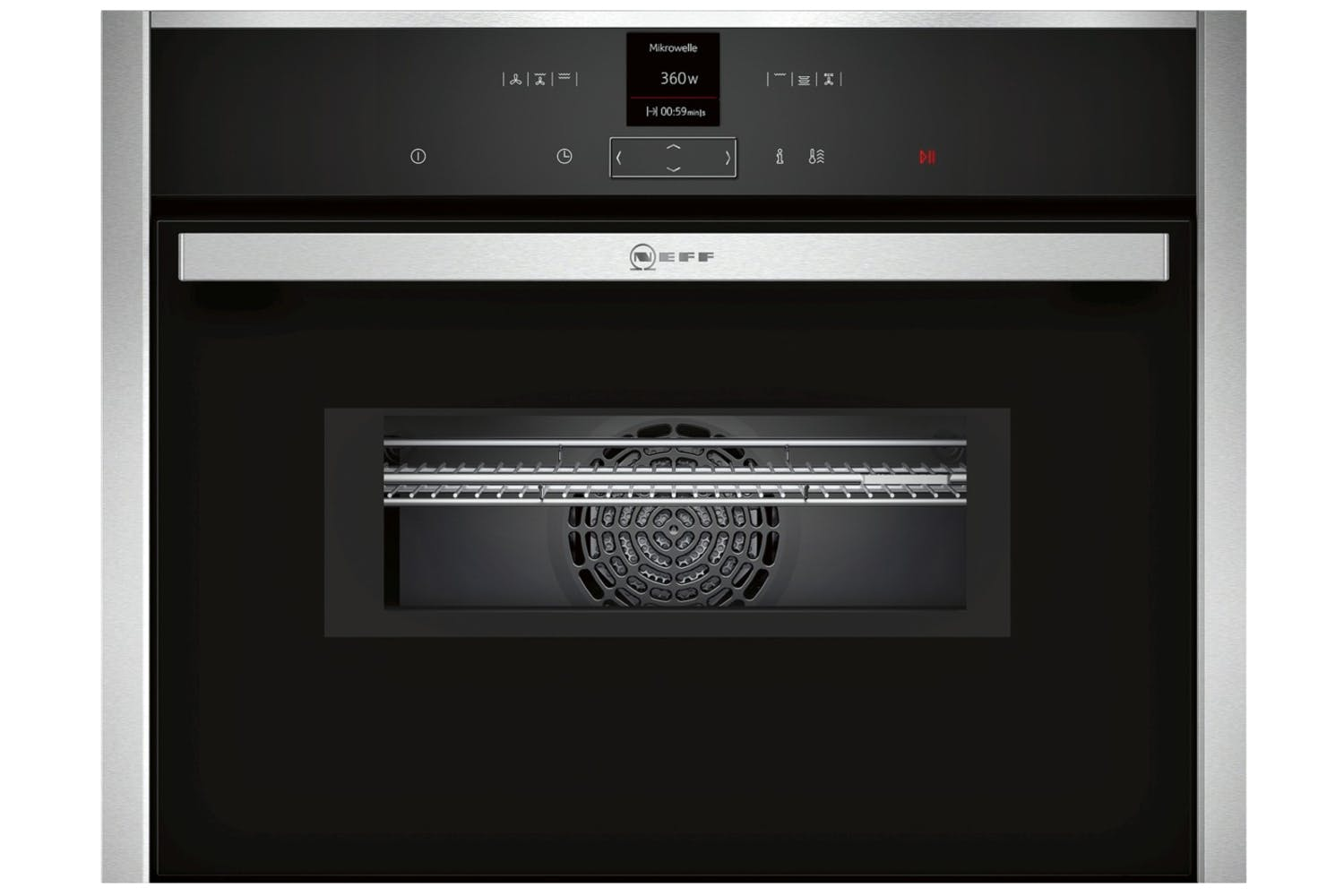 b72d5a9fb8d Neff Built-in Combination Microwave Oven