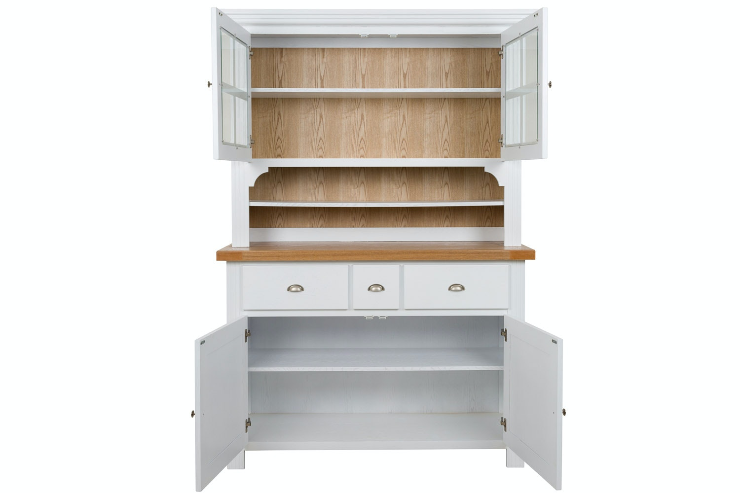 New Haven Buffet & Hutch | White