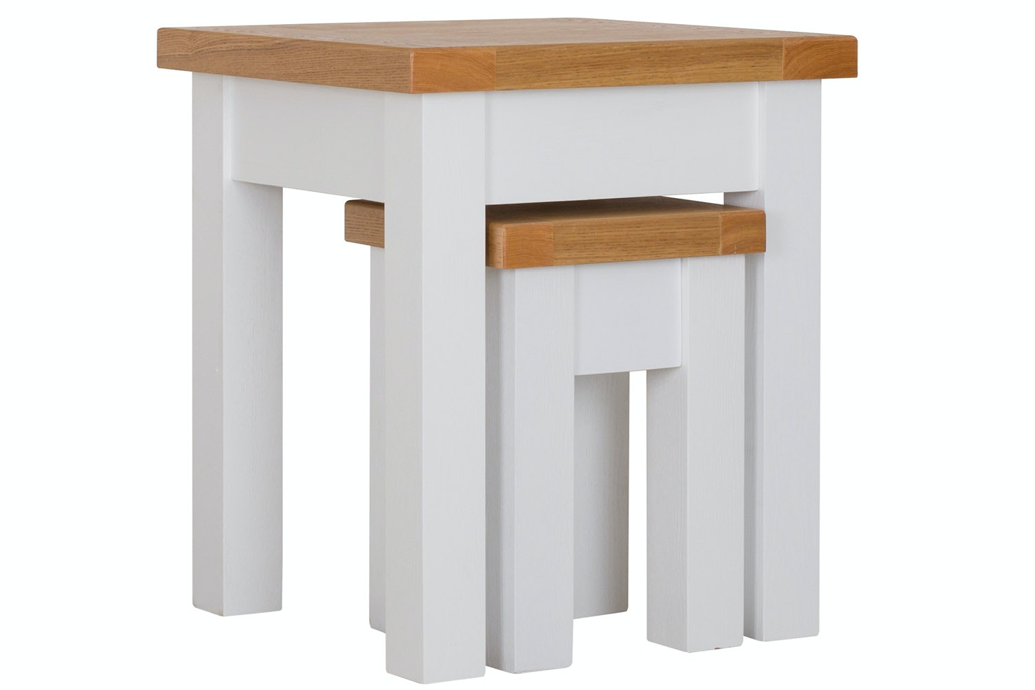 New Haven Nest of Tables | White