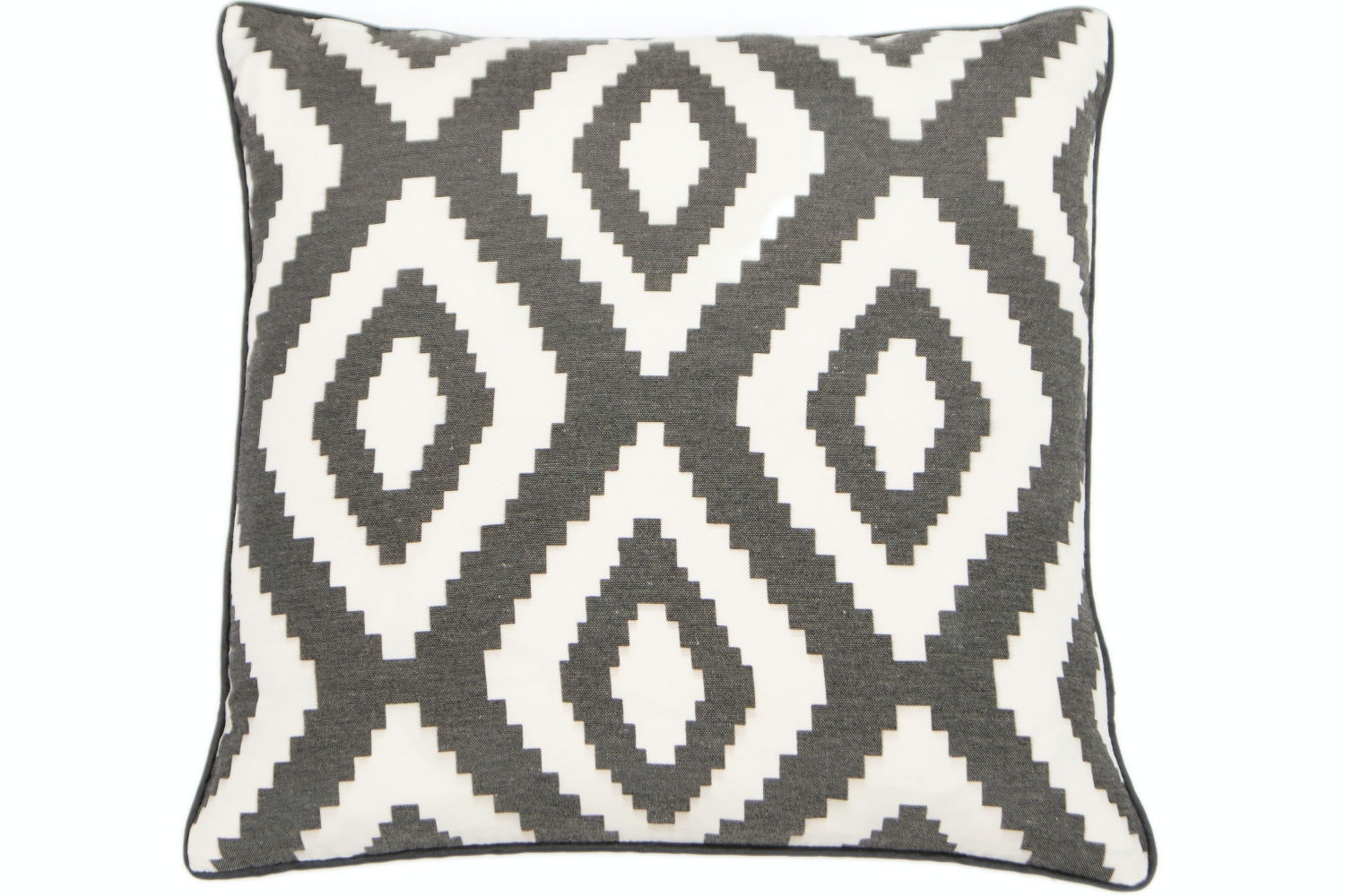 Grey Aztec Cushion