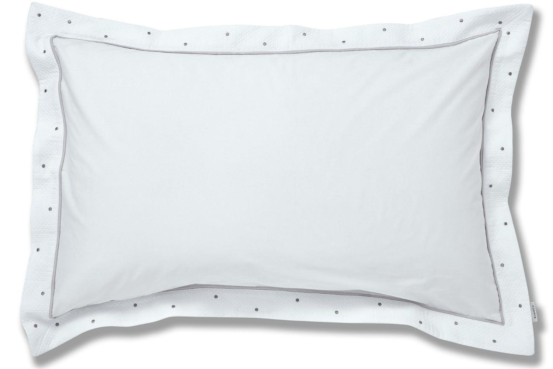 Casual Spot Grey Oxford Pillow Case