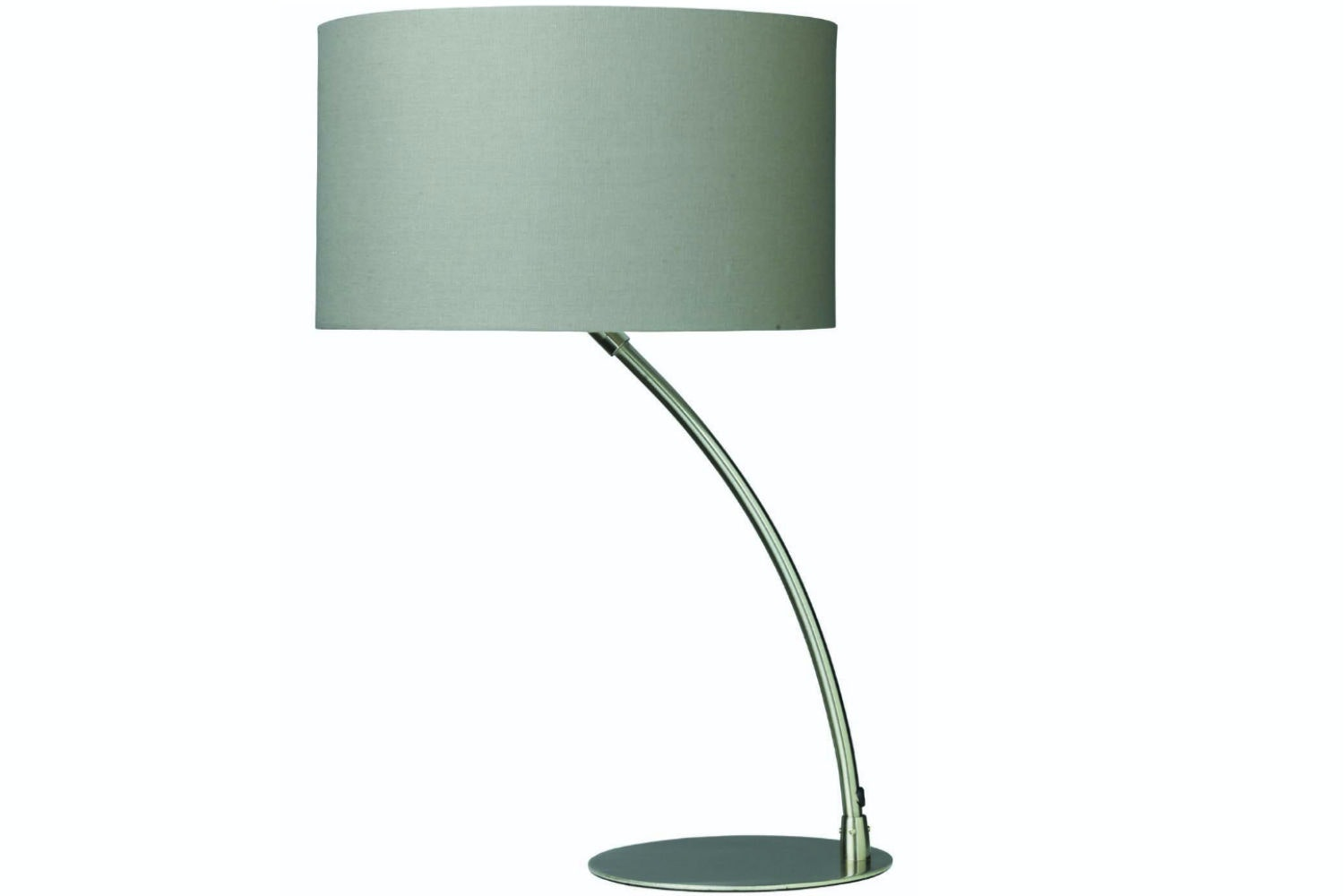 Curve Table Lamp in Chrome