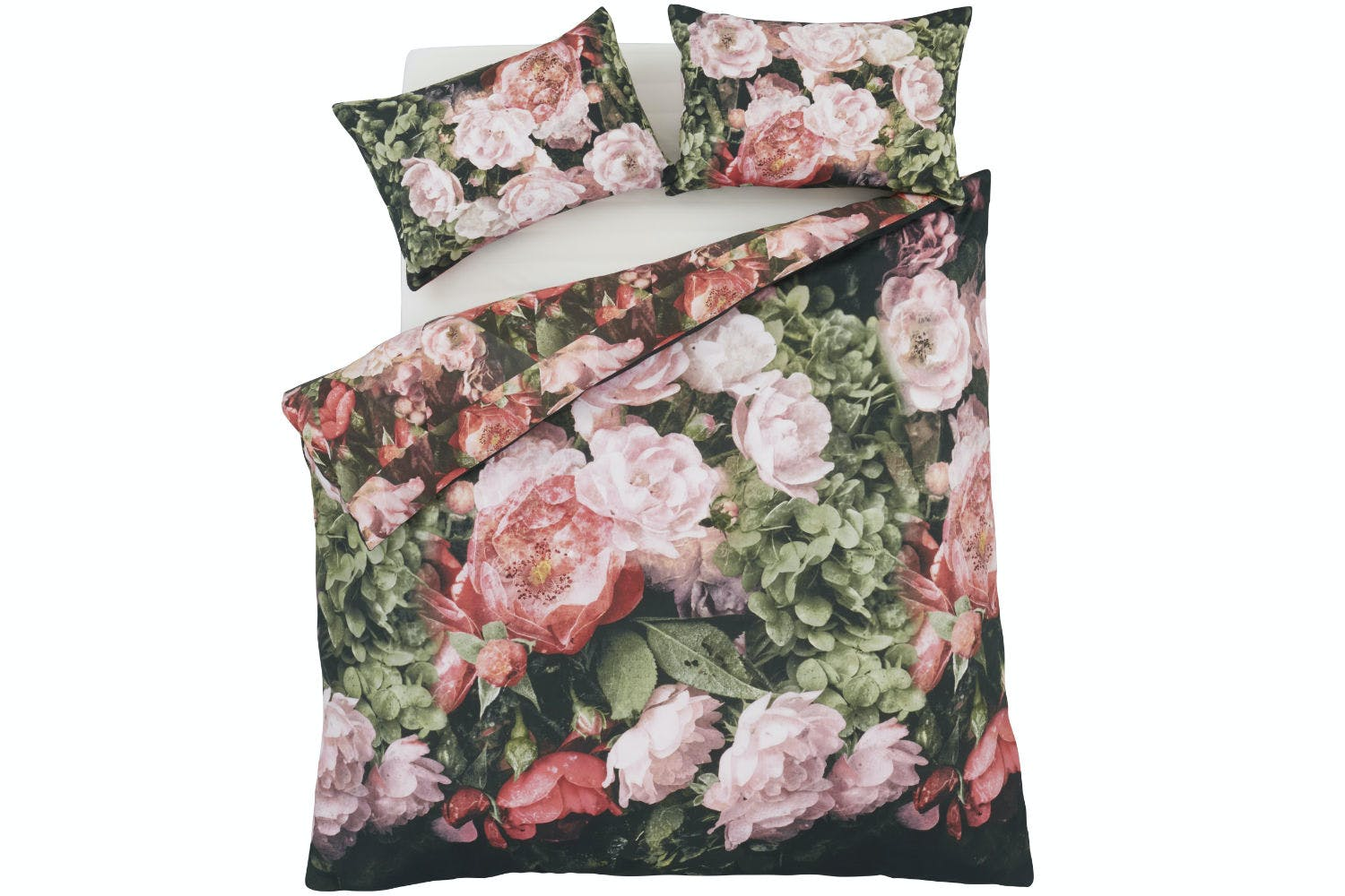 Dramatic Floral Double Duvet Set