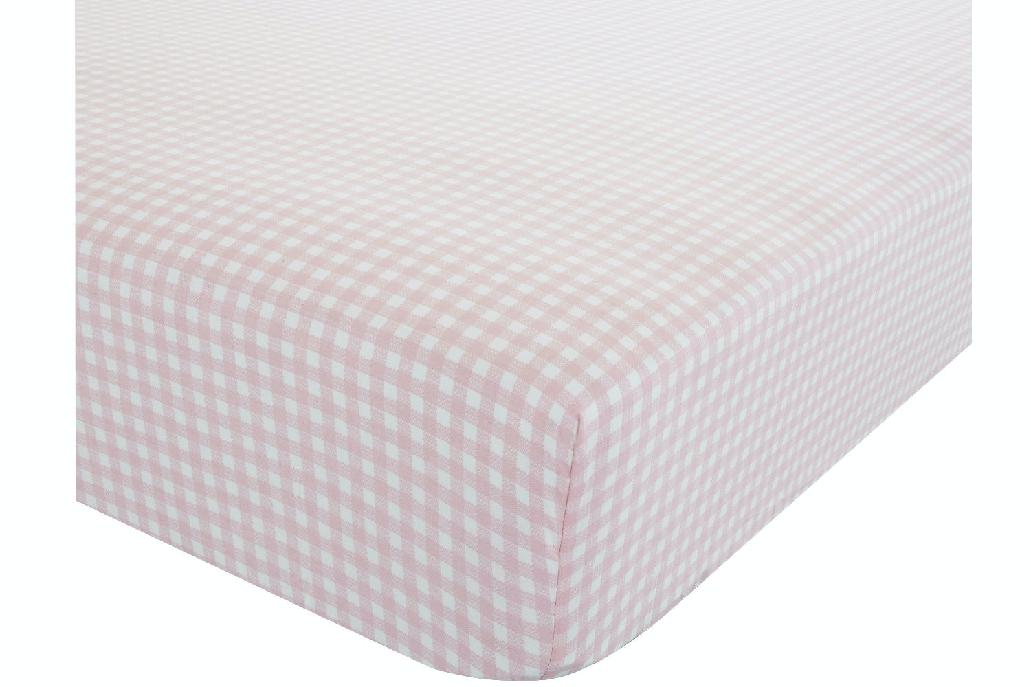 Gingham Fitted Sheet | Single Bed