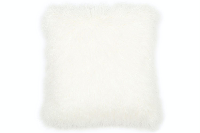 Gobi Fur Cushion | Ivory