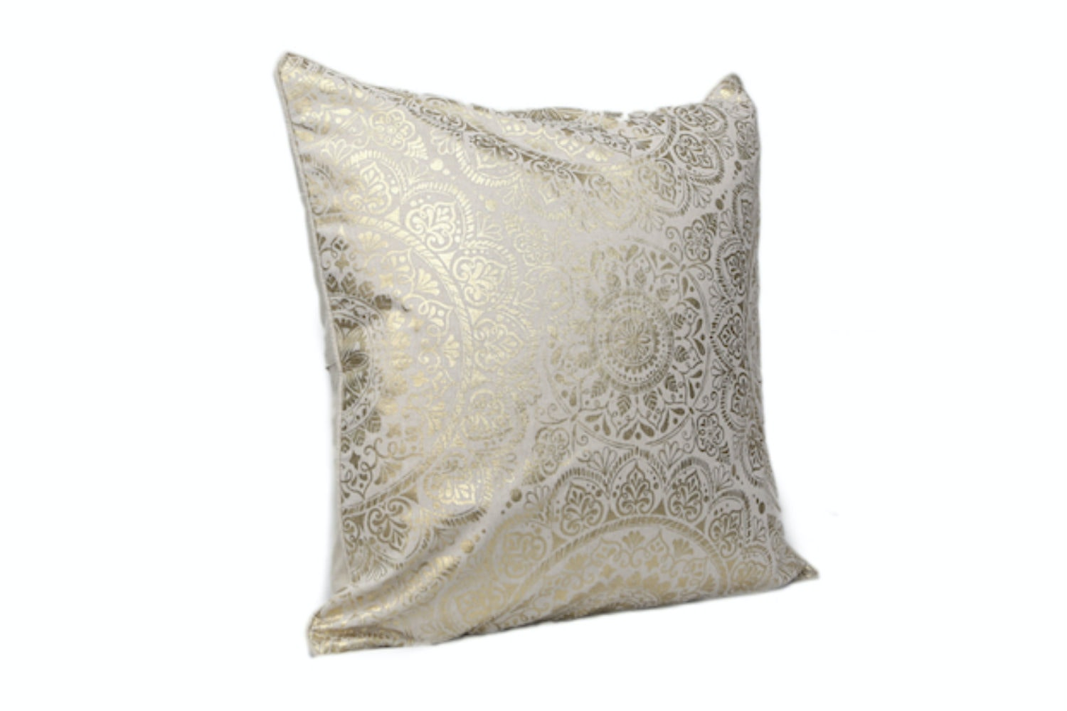 Gold Henna Cushion