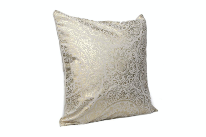 Gold Henna Cushion