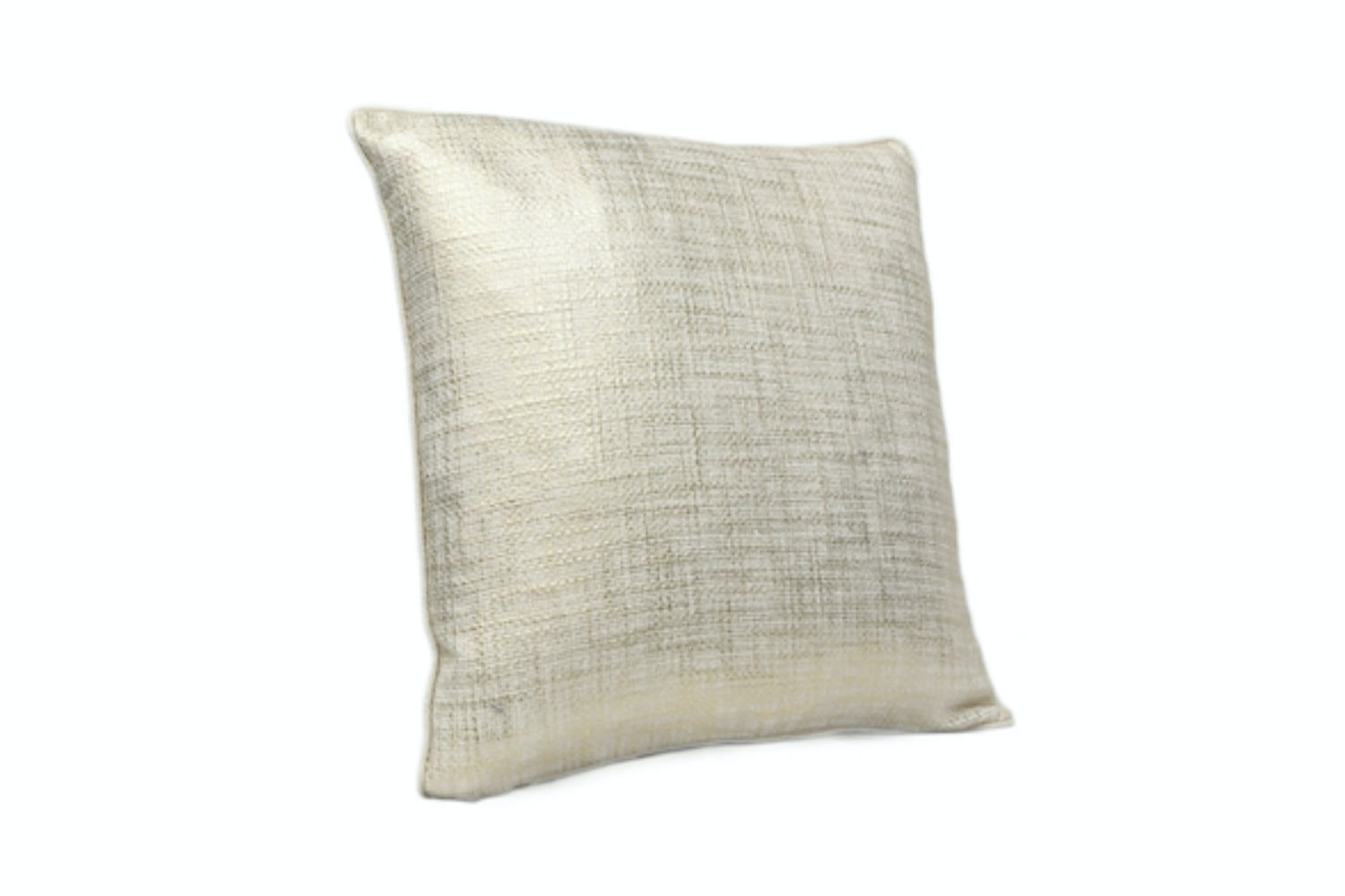 Gold Woven Cushion