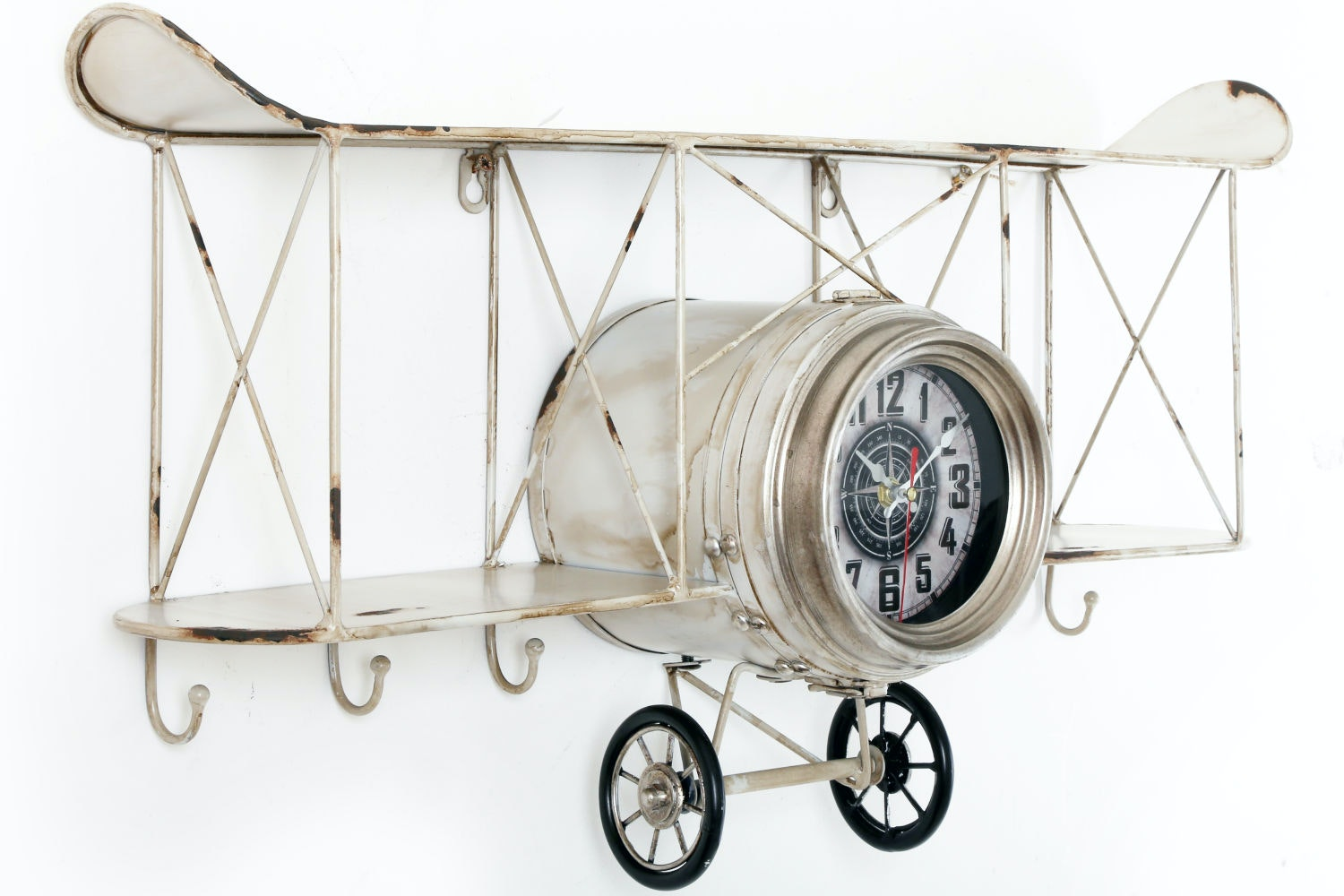 Aeroplane Clock Shelf