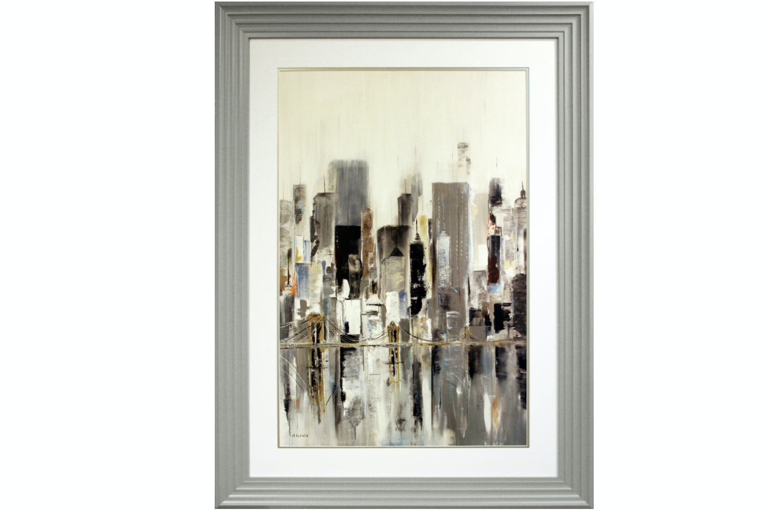 Skyline Framed Painting