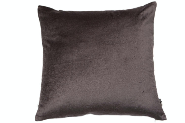 Slate Velvet Cushion