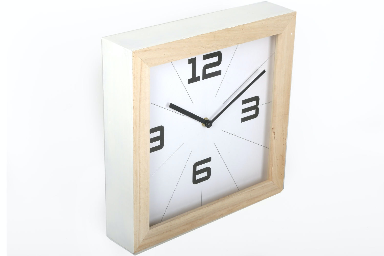 Wooden Clock | 30X30cm