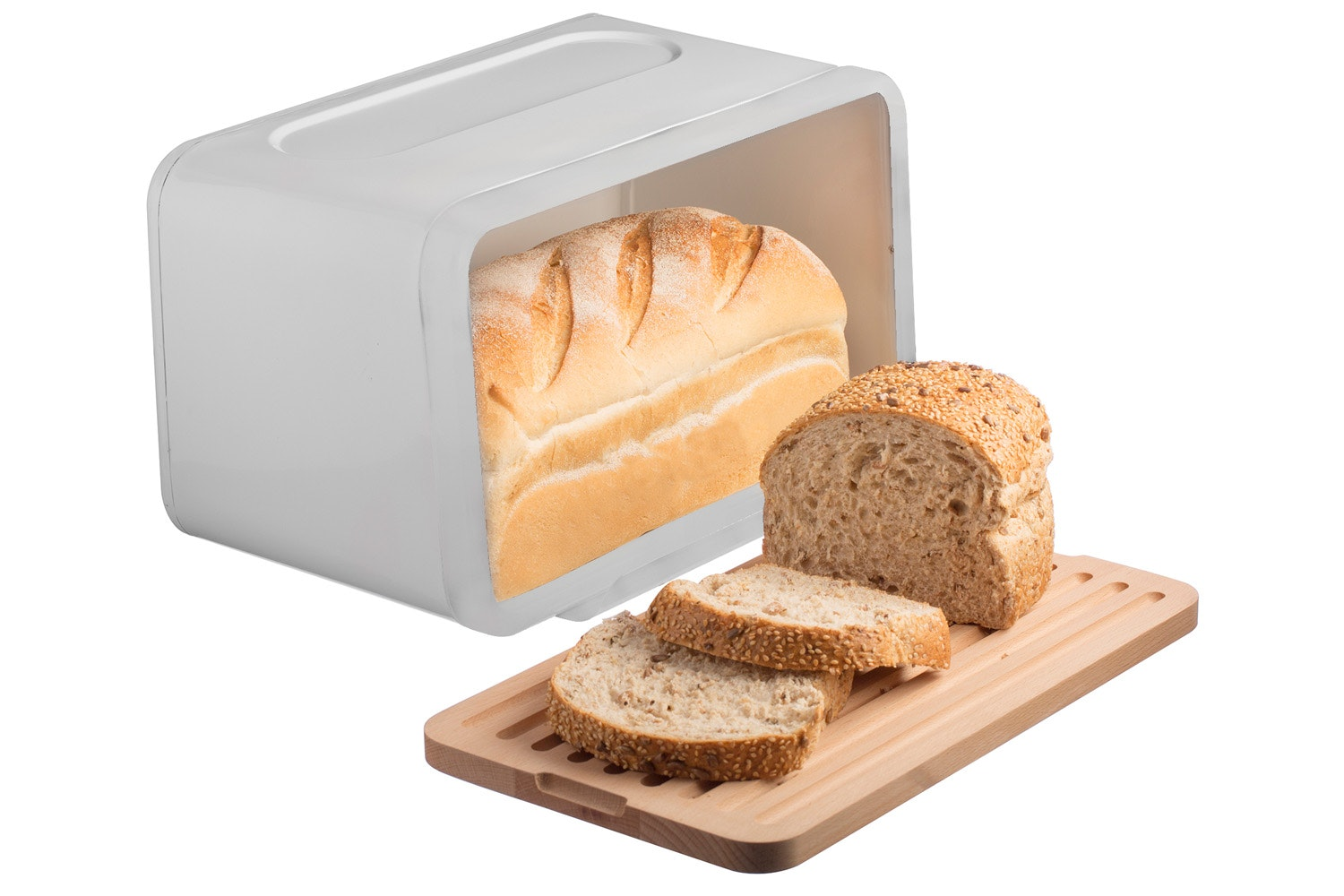 Typhoon White Bread Bin