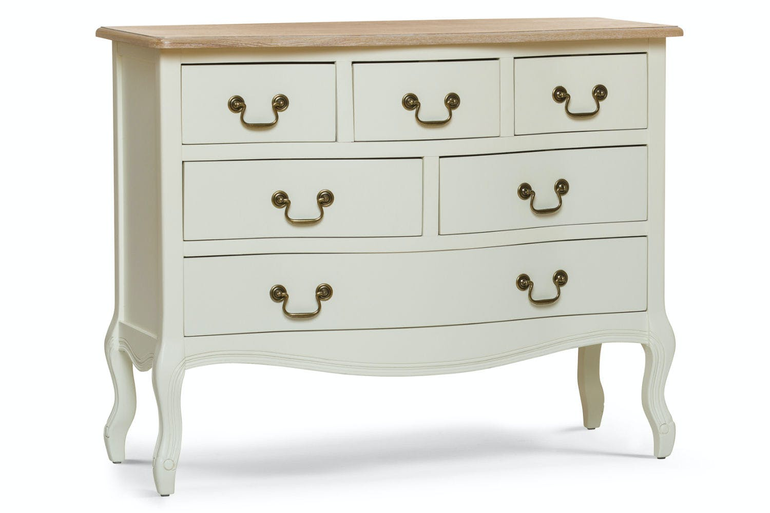 new arrival a7853 554d8 Bouvard 6 Drawer Dresser Chest | Cream