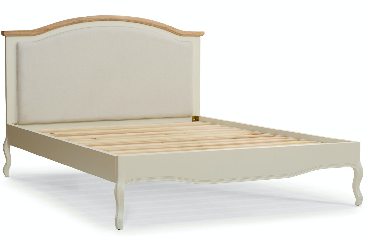 Bouvard Bed Frame 4ft6 | Cream