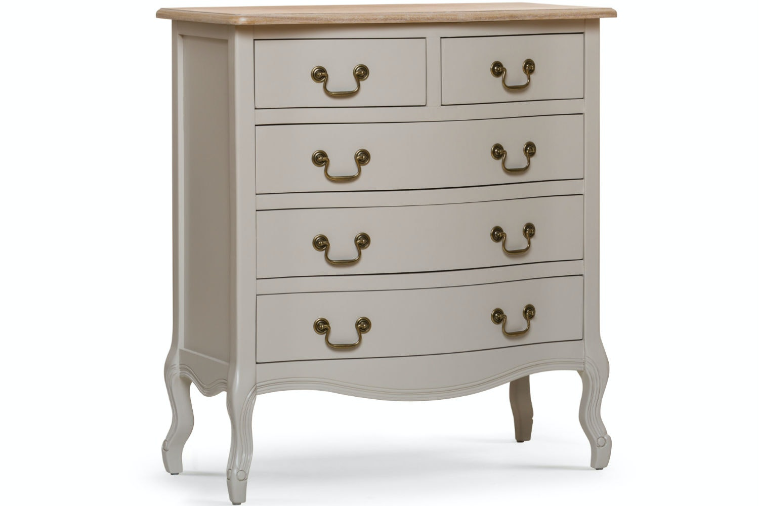 Bouvard 3+2 Chest of Drawers | Grey