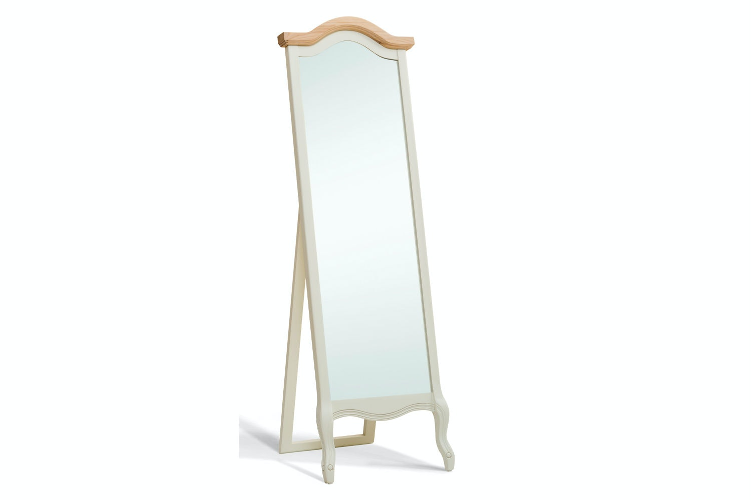 Bouvard Cheval Mirror | Cream