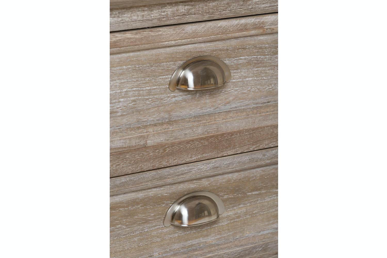 Charlotte 3 Drawer Bedside Locker | Truffle