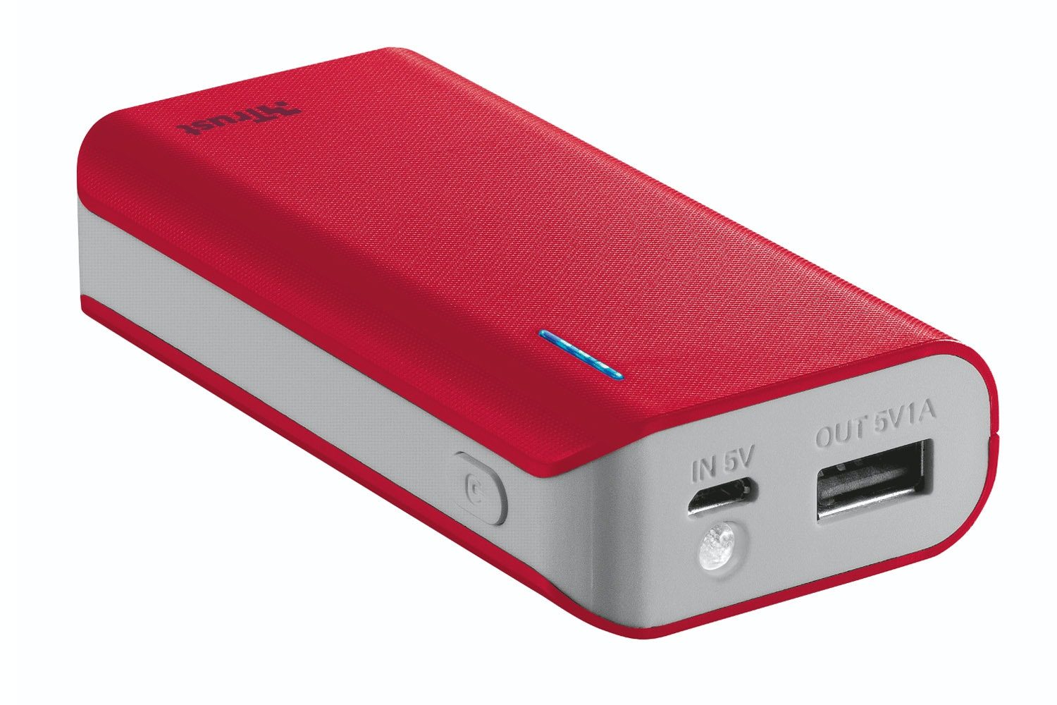 Trust 4400MaH Power Bank  | Red
