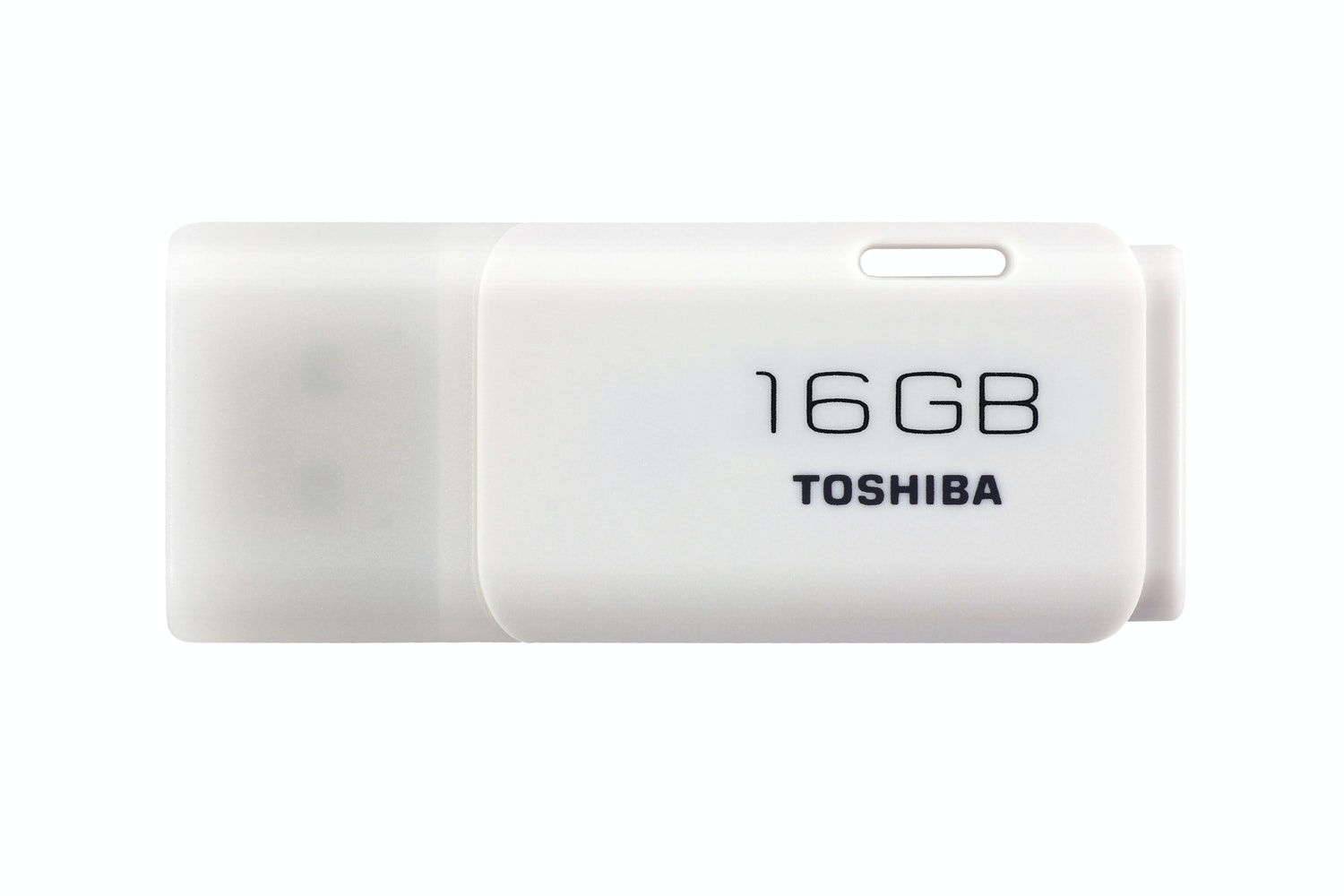 Toshiba 16GB USB flash drive | White