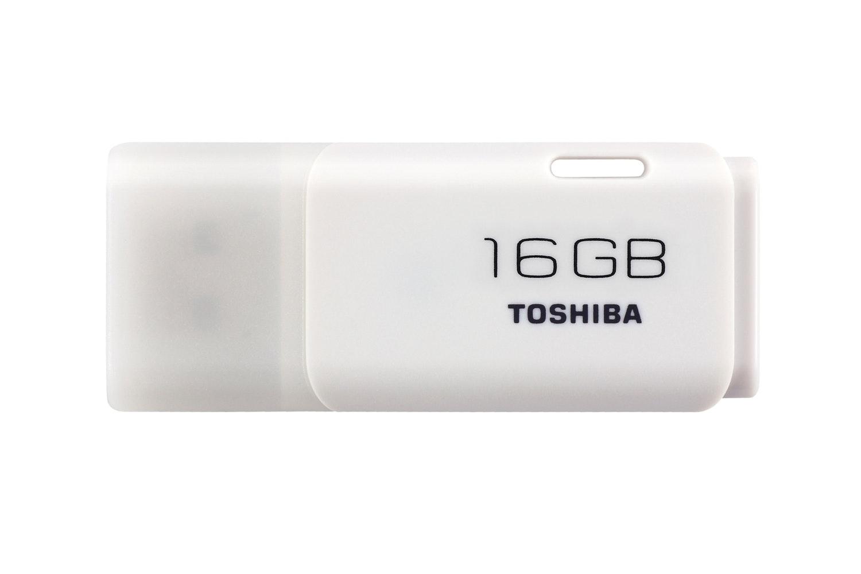 Toshiba 16GB USB flash drive | White
