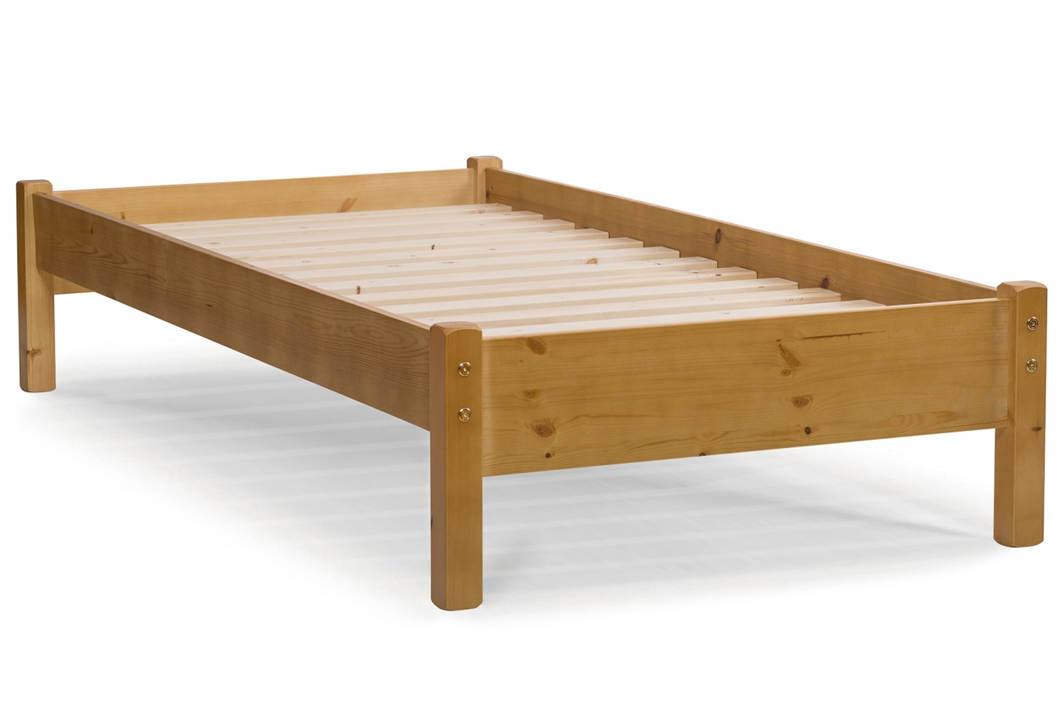 Emily Bed Frame with Underbed Drawers | 3ft | Natural