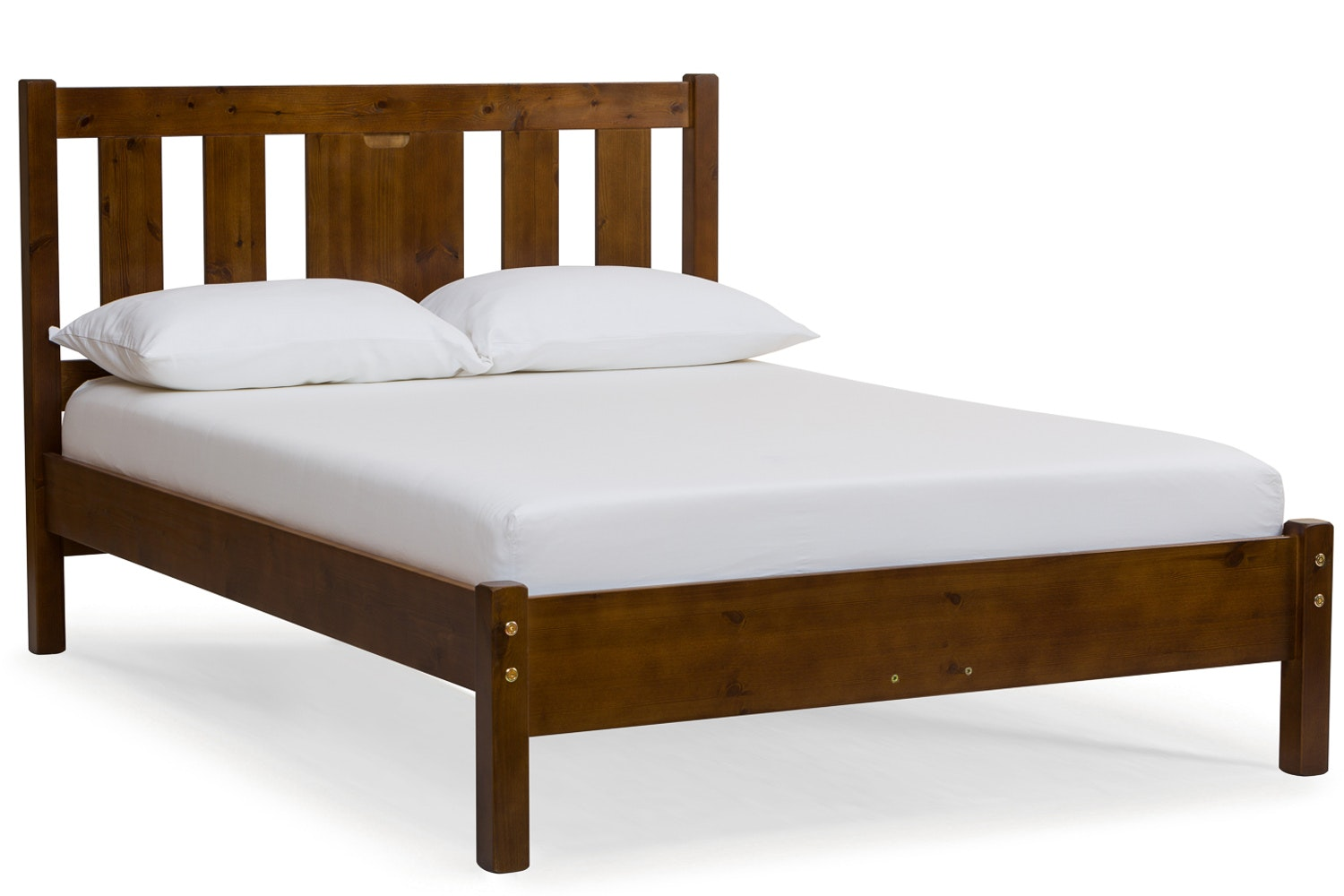 Emily Bed Frame | 4ft6 | Walnut Stain