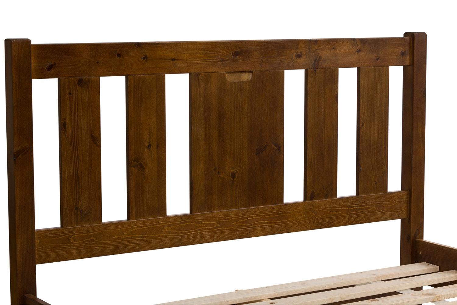 Emily Bed Frame | 4ft | Walnut Stain