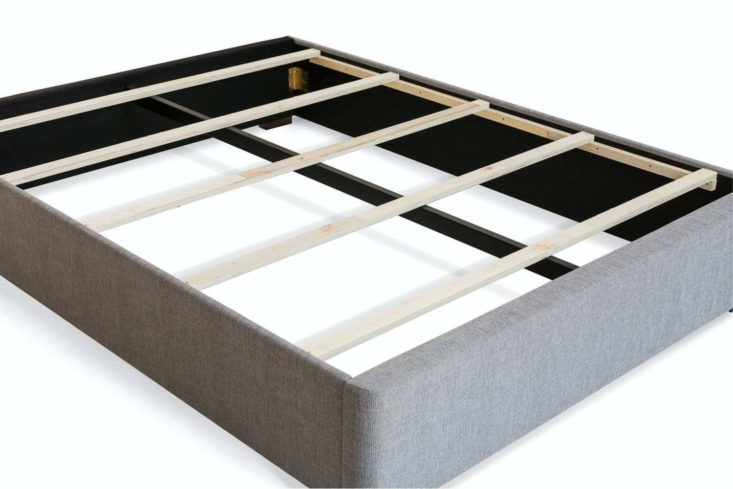 Duval 5' Bed Frame | Grey | Tufted Button