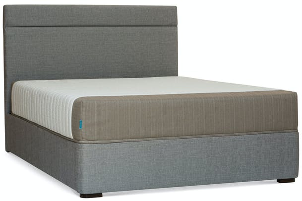 Duval Bed | Horizontal Stitch | Grey | 6ft