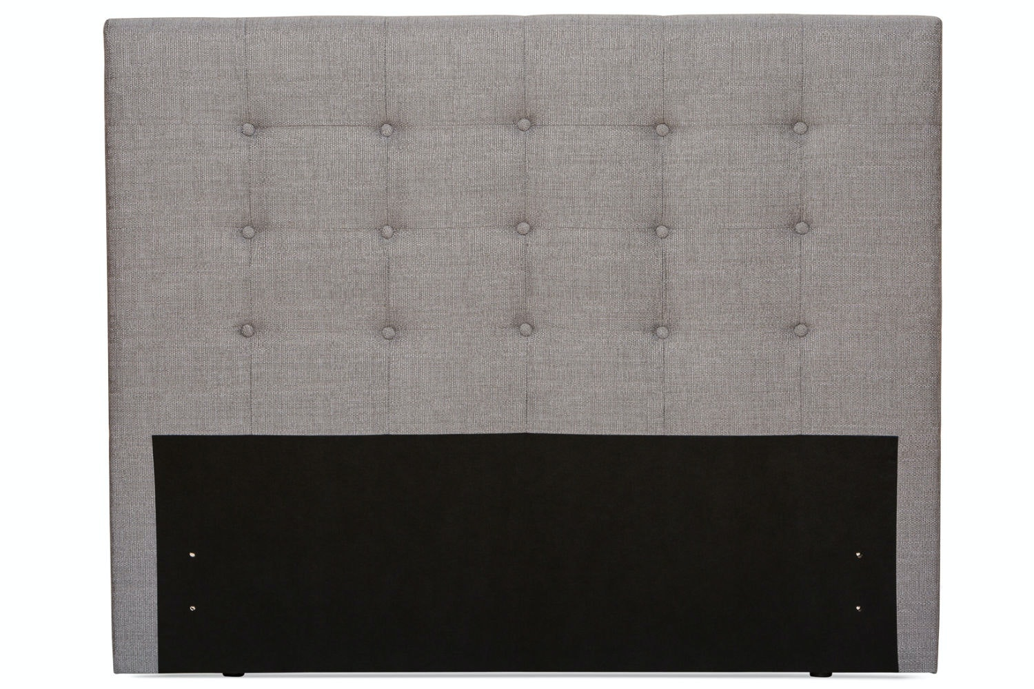 Duval 6' Headboard | Grey | Tufted Button