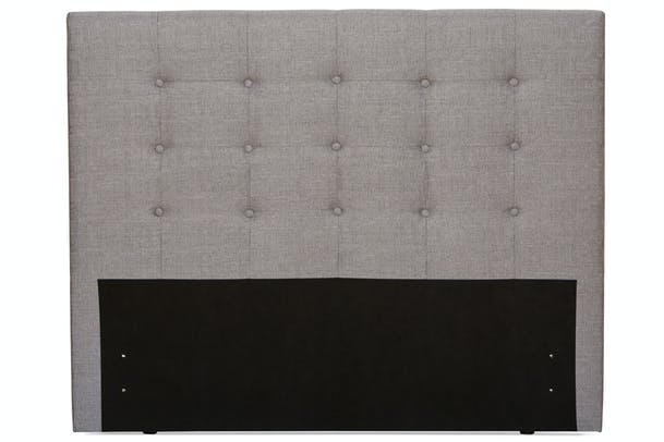 Duval Headboard | Tufted Button | Grey | 6ft