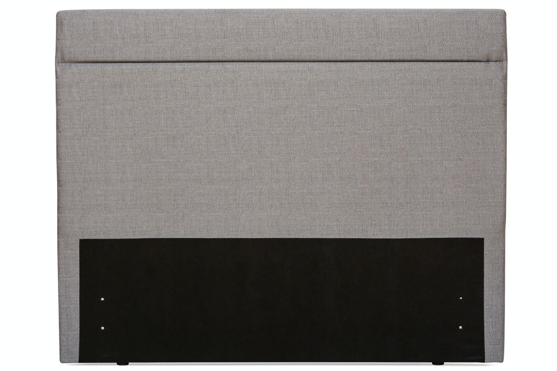 Duval 5' Headboard | Grey Horizontal Stitch