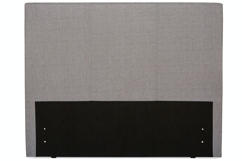 Duval 6' Headboard | Grey | Vertical Stitch