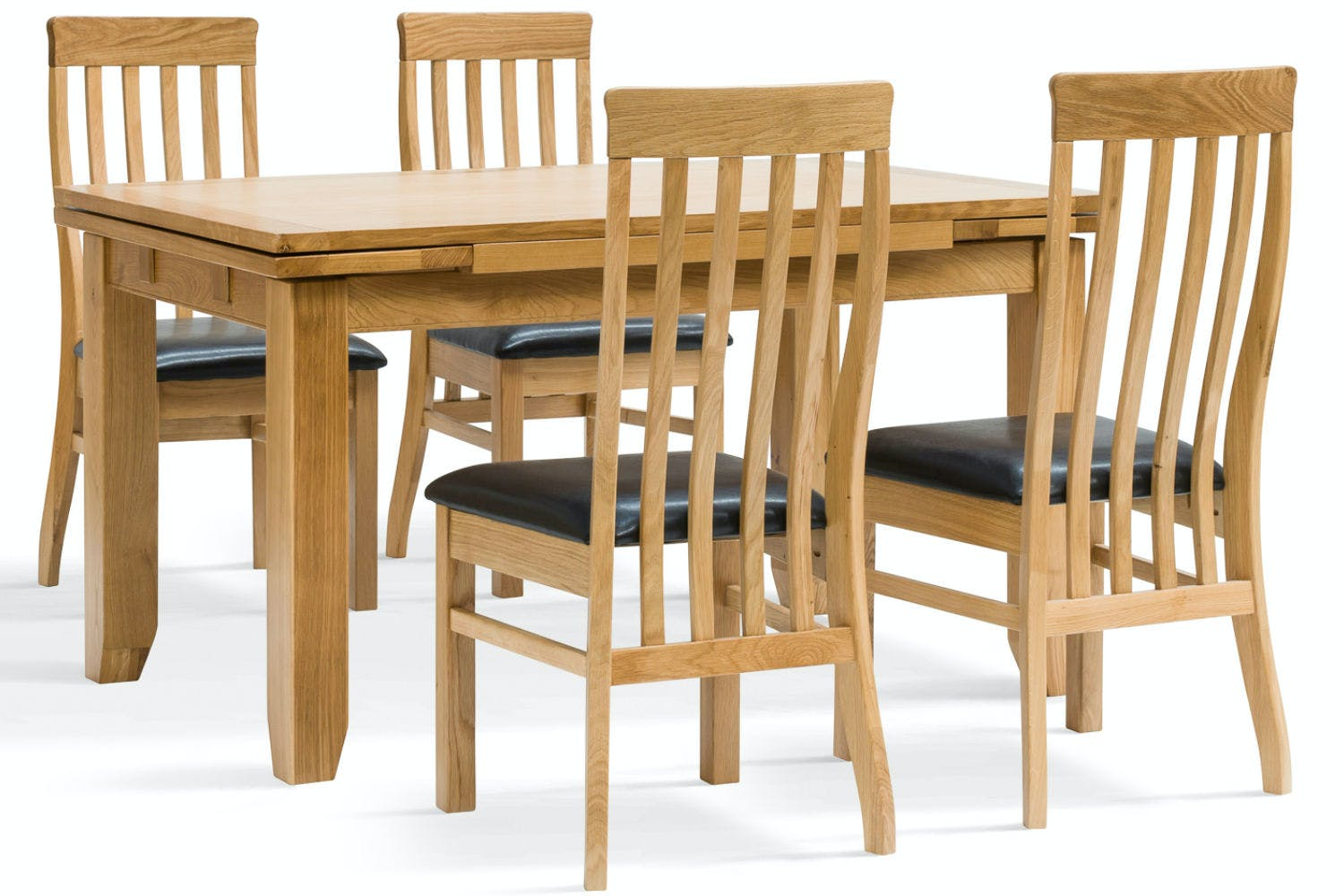 Hillary 5 Piece Oak Extending Dining Set Dale Chairs Ireland