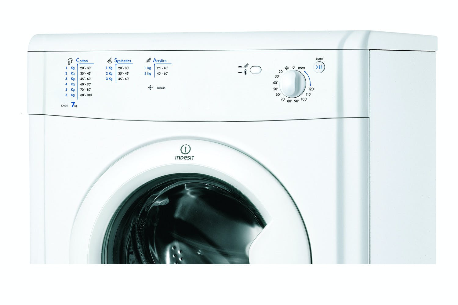 Indesit EcoTime 7kg Vented Tumble Dryer