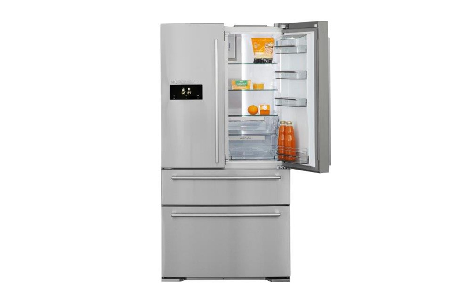 Nordmende French Door Fridge Freezer | RFA90IX