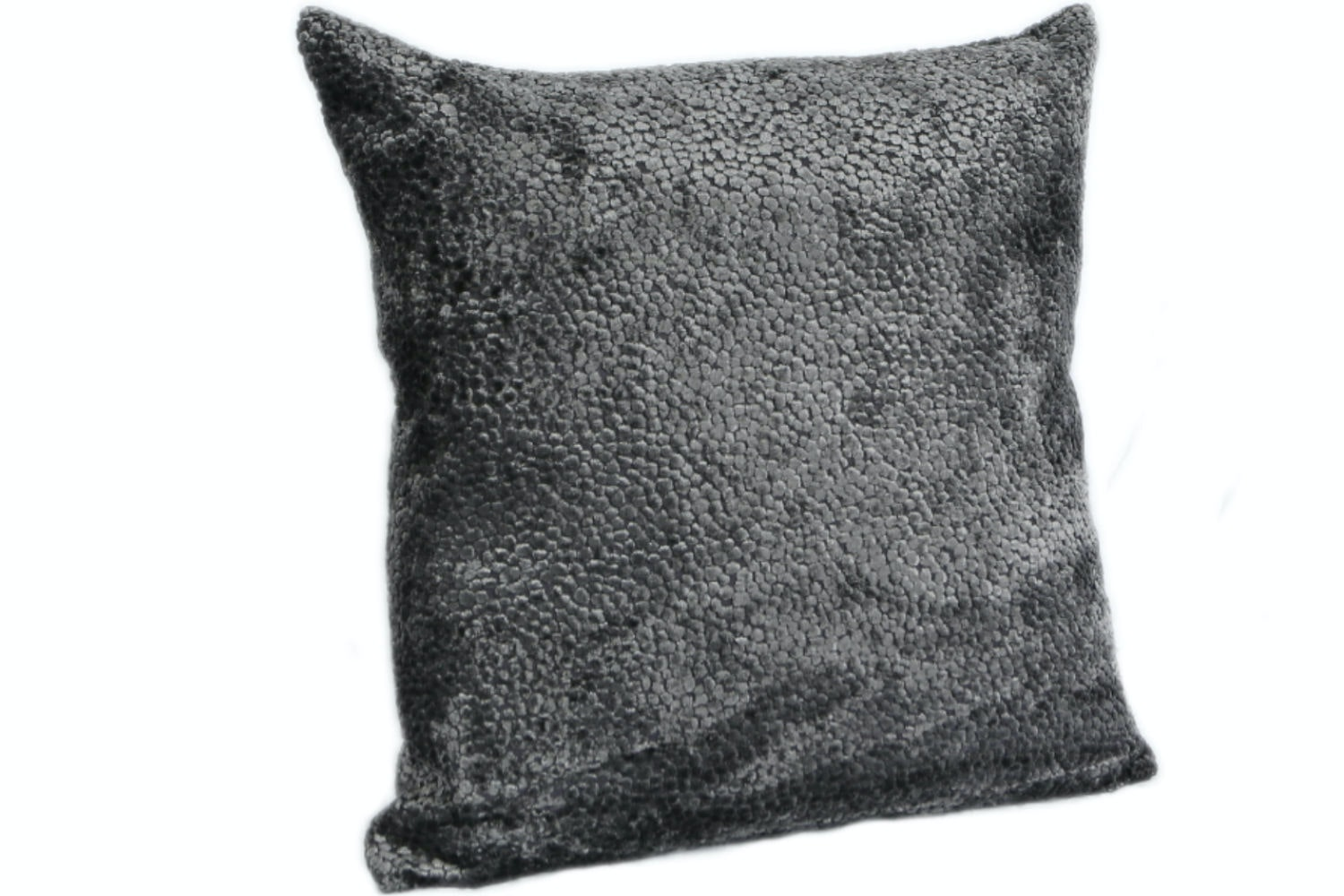 Burnt Velvet Cushion | Taupe