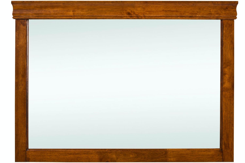 Chardonnay Dresser Mirror Dark Oak