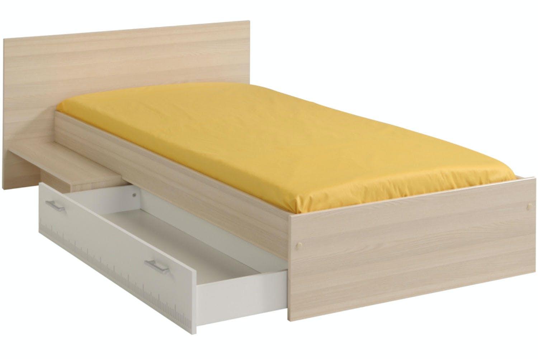 Trundle bed frame - Charlie Trundle Bed Frame 3ft Acacia White