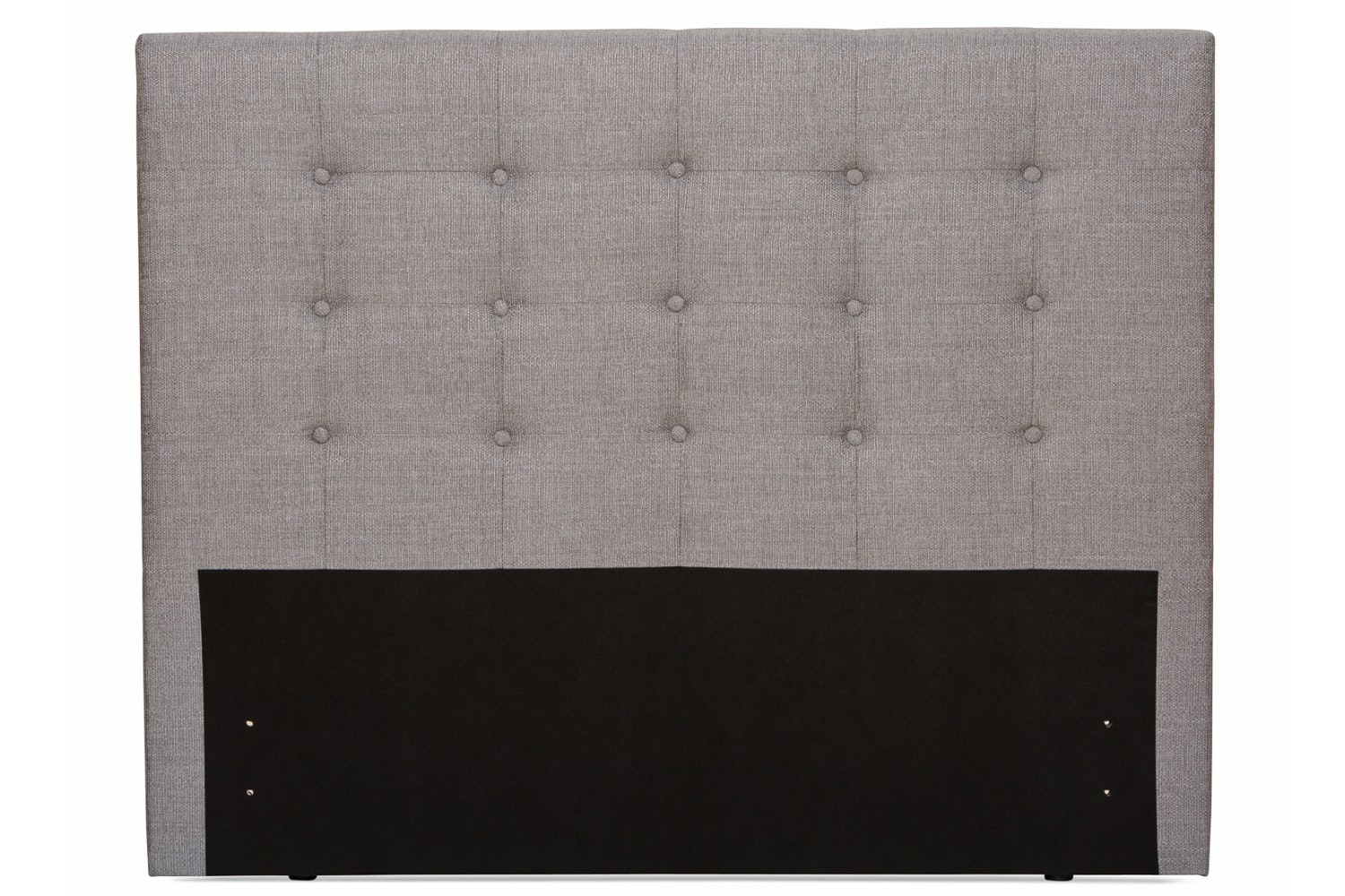 Duval Headboard | Tufted Button | Grey | 4ft6