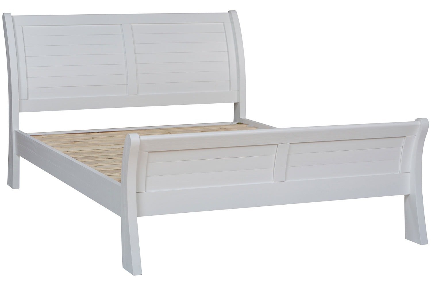 Gemstone Double Bed Frame | 4ft6 | White
