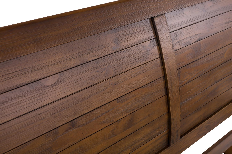 Gemstone Double Bed Frame   4ft6   Walnut