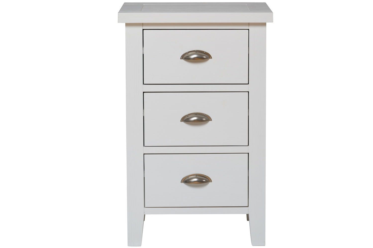Gemstone Bedside Locker | White